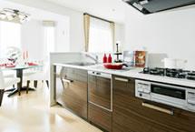 機能性の高いキッチン